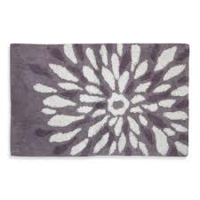 Purple And Gray Bathroom - grey bathroom rugs rugs decoration