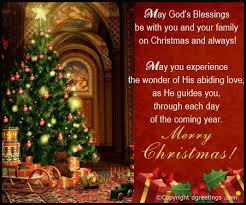 may god s blessings be with you and your family merry