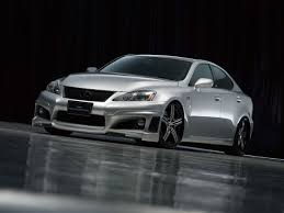 lexus sports car isf tuning wald lexus is f sports line black bison edition photos
