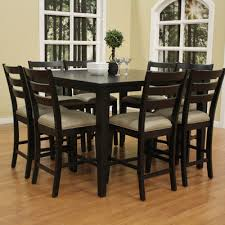 7 piece dining room table sets collection in 7 piece black dining room set with black dining room