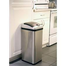 Kitchen Garbage Can With Lid by Kitchen Interesting 13 Gallon Trash Can For Your Kitchen Design