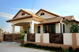 bungalow house designs bungalow single story modern house with floor plans cottage