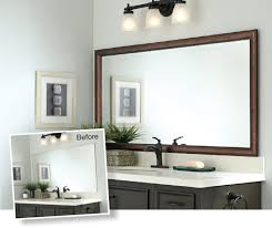 Bathroom Mirror Molding Frame Bathroom Mirror
