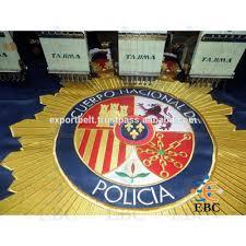 Flag Badges Embroidered Flag U0026 Banner Machine Embroidered Flag Machine Embroidery Spanish