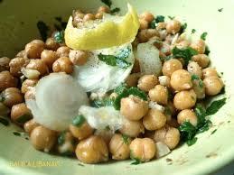 cuisiner les pois chiches balila libanais ou salade de pois chiches oranges et epices