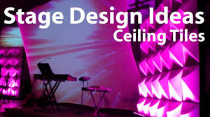 church stage design ideas ceiling tiles youtube