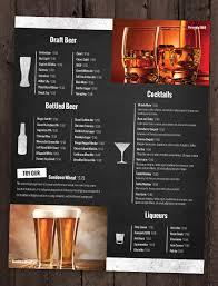 menu bar templates 24 bar menu templates free sle exle format