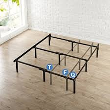 Bed Risers For Metal Frame Zinus 12 Inch Compack Bed Frame For Box