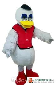 duck costume 100 real photos plucka duck mascot costume party costumes fur