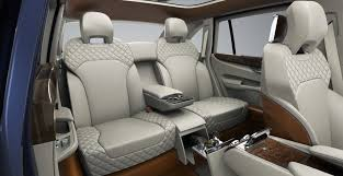 bentley interior back seat bentley reveals suv concept