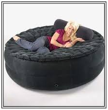 bean bag sofa bed bean bag couch with pillow and blanket pinteres