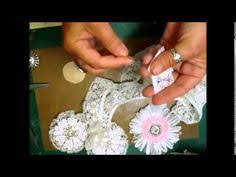 chic and cheap shabby cute fabric flowers lovey homemade flower