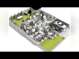 Standard Measurement Of House Plan 3d House Plan With Measurement Design Youtube