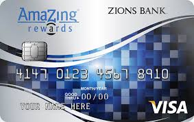 amazing credit cards amazing visa card zions bank