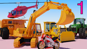 one hour of aapv cartoons diggers trucks helicopters
