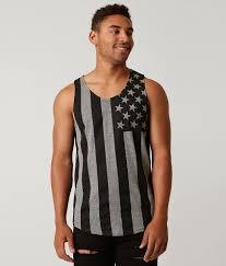 Flag Clothing Brooklyn Cloth Usa Flag Tank Top Men U0027s Tank Tops In Black Marl