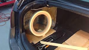 lexus build my own lexus gs fiberglass subwoofer box part 1 youtube