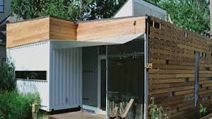 shipping container house conversion youtube