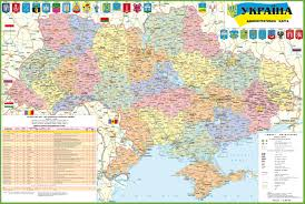 Map Of Canada With Cities by Ukraine Maps Maps Of Ukraine