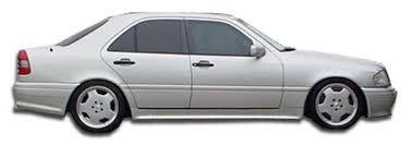2000 c class mercedes 1994 2000 mercedes c class w202 duraflex amg look side skirts