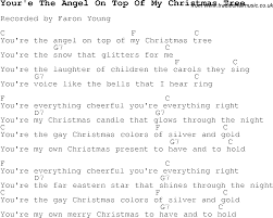 angel christmas tree song christmas lights decoration