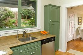 Green Country Kitchen Country Kitchen With Undermount Sink Flush In Berkeley Ca