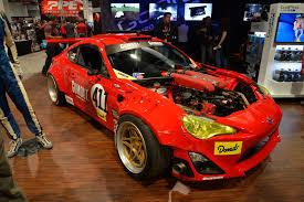 toyota gt86 sema 2016 toyota gt86 with ferrari 458 engine gtspirit