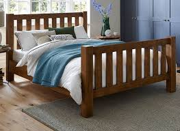 moore pine wooden bed frame dreams
