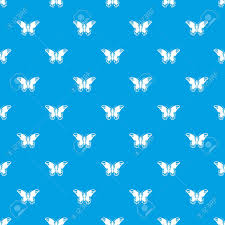 admiral butterfly pattern repeat seamless in blue color for any