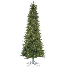 brilliant decoration 9 foot slim tree snowy dunhill