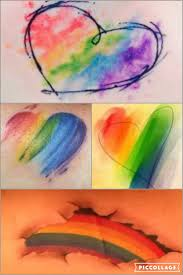pride rainbow watercolor ideas me