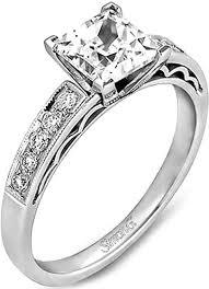 simon g engagement rings simon g pave engagement ring lp1208