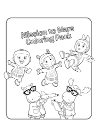 backyardigans halloween coloring pages u2013 halloween wizard