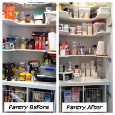 Organizing Your Pantry by Power Up Your Pantry Pantry Before And After From Chaos To Calm