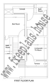 metre to square feet 25 42 feet 97 square meter house plan
