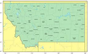 Map Of Montana With Cities by Where Is Montana Montana Maps U2022 Mapsof Net