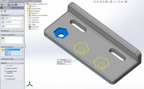 solidworks linear pattern linear patterning in solidworks computer aided technology