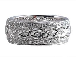 antique wedding rings art deco ring r0450