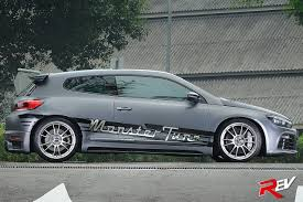volkswagen scirocco r modified tidal wave vw scirocco 2 0 tsi