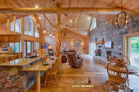 Log Home Open Floor Plans by Golden Eagle Log Homes Log Home Cabin Pictures Photos Custom