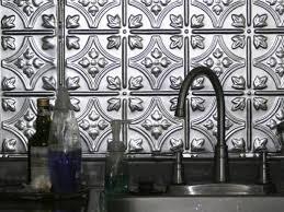 kitchen metal backsplash metal backsplash ideas hgtv
