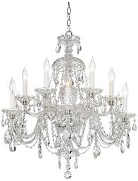 Light Crystal Chandelier Crystal Chandeliers Shopping Guide Photos Architectural Digest