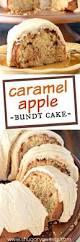caramel apple bundt cake shugary sweets