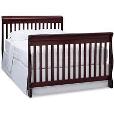 Delta Canton 4 In 1 Convertible Crib Black by Delta Canton 4 In 1 Convertible Crib And Bonus Mattress Bundle