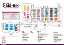 floor plan bangkok international gift fair and bangkok