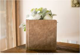 leather wedding albums leather wedding album temecula creek inn garrett