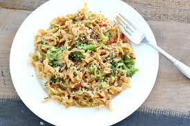 Modern Table Meals by Quick U0026 Easy High Protein Teriyaki Bean Pasta The Fit Foodie Mama