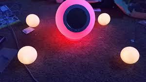 eluma lights speaker system eluma lights speaker first run youtube
