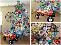 themed christmas tree inside out disney themed christmas tree pretty my party