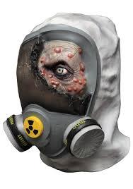 toxic zombie mask